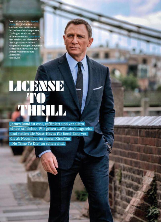 Top Magazin Frankfurt, Herbst 2020, James Bond