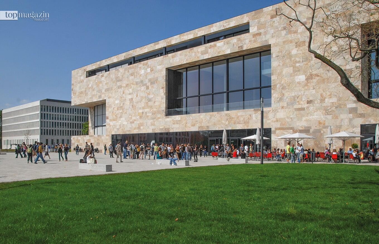 Das Hörsaalzentrum auf dem Campus Westend