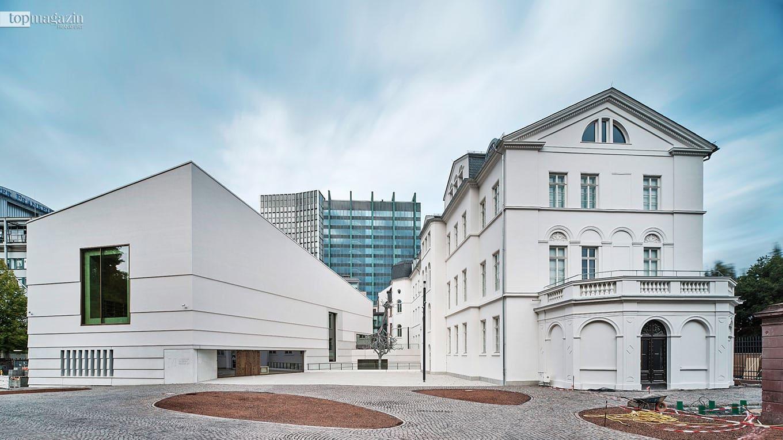 Das neue Jüdische Museum Frankfurt (Foto Norbert Miguletz)