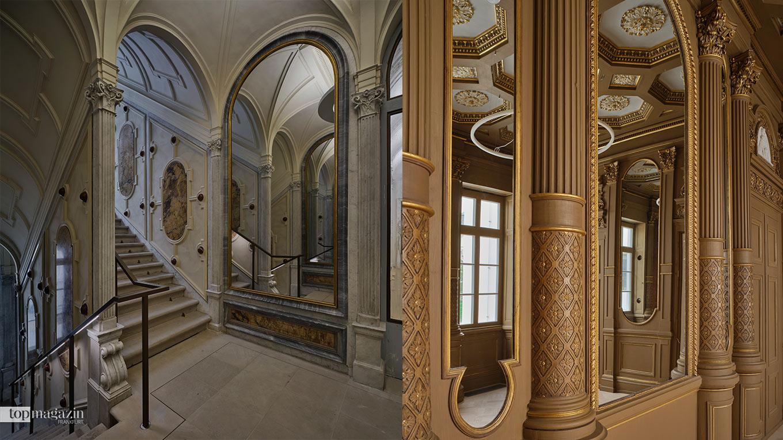 Die historischen Räume des Rothschild-Palais nach der Renovierung