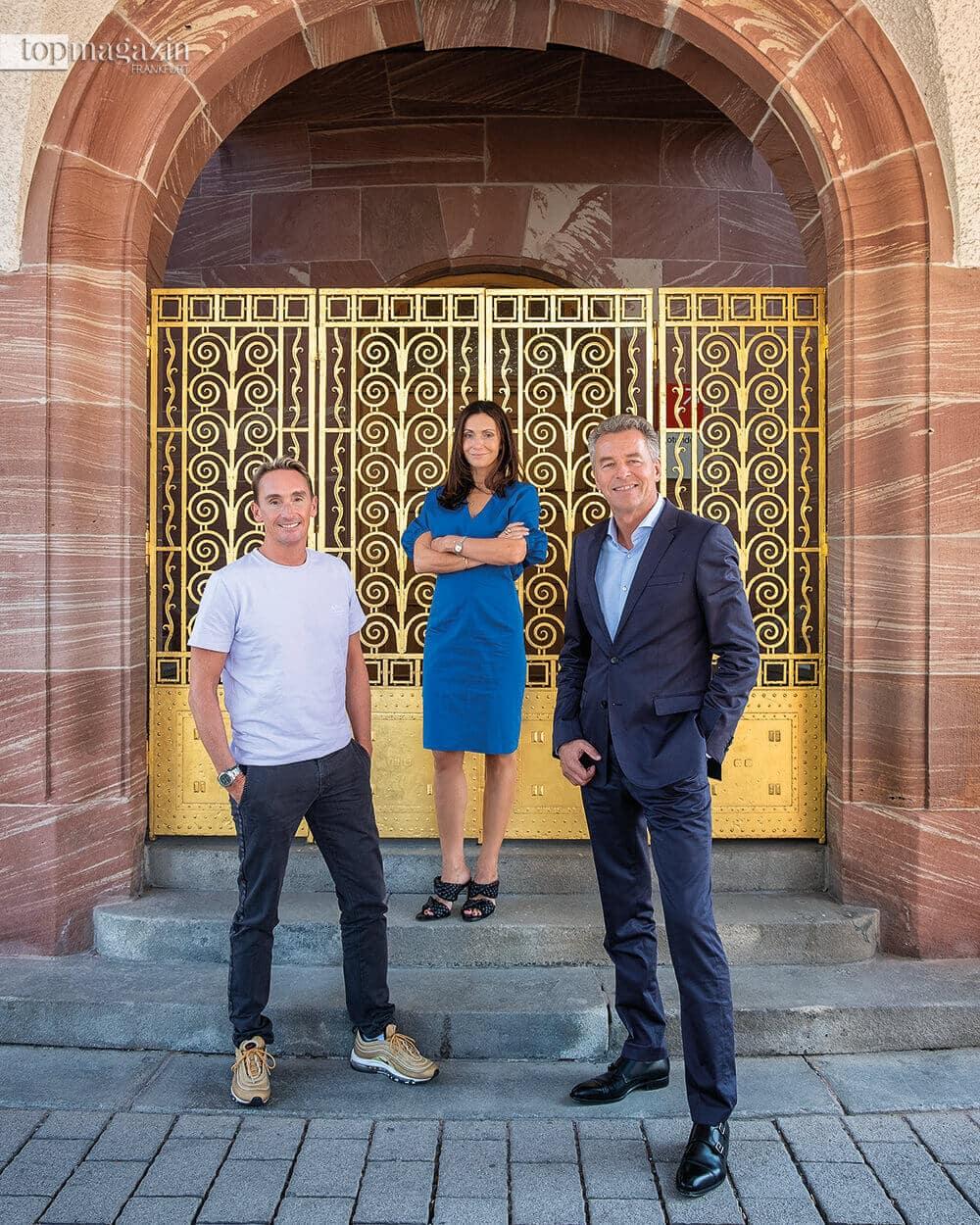 Jörg Arntz, Anita Tillmann und Detlef Braun haben die Fashion Week nach Frankfurt geholt