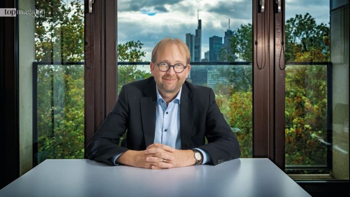 Neuer Präsident der Goethe-Universität Frankfurt Enrico Schleiff