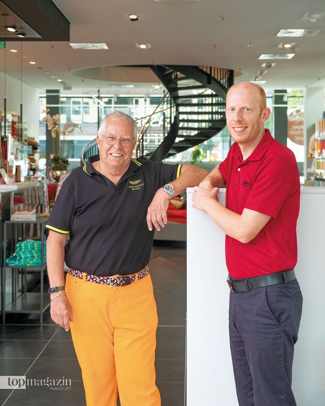 Günter und Bardo Hildmann (Betten Zellekens)