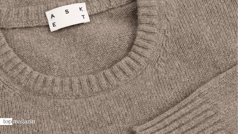 """Cashmere Sweater"""" von Asket"""