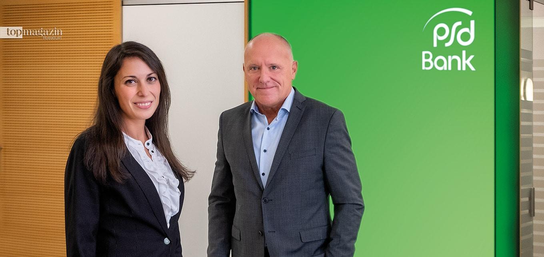 Finanzberaterin Ornella Plumari und Baufinanzierungsspezialist Steffen Jack