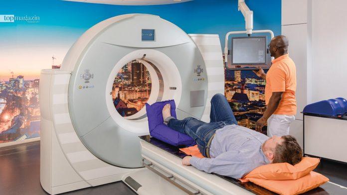 Hohe Präzision in der Praxis für Strahlentherapie in Frankfurt mit dem modernen Somatom-CT von Siemens