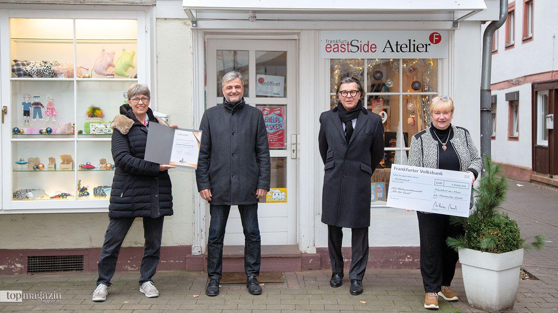 Marion Berger, Jürgen Kuhn (BFF-Mitglied Ortsbeirat 11), Prof. Hans Joachim Mendig, Sabine Lauer