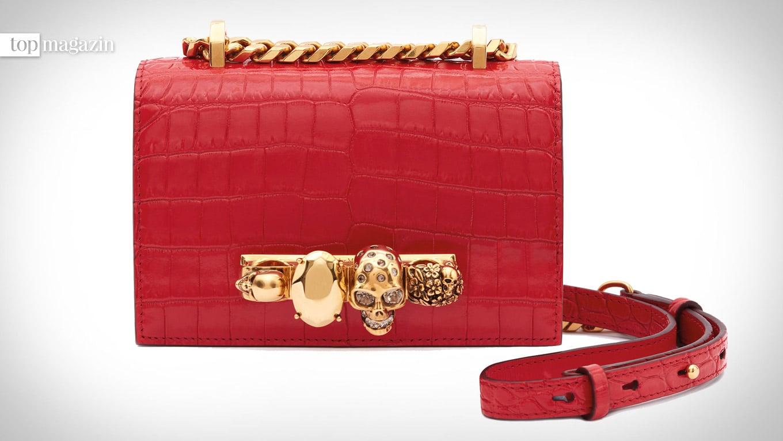 Mini-Jewelled Satchel Bag von Alexander McQueen
