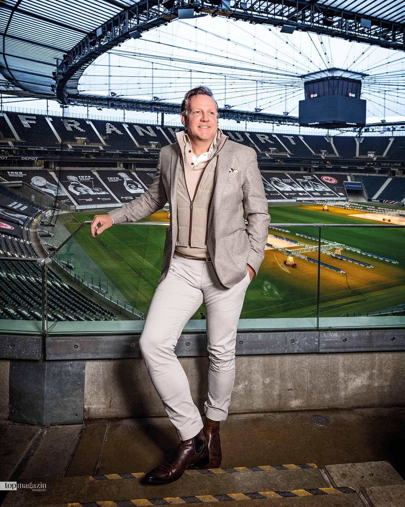 Eintracht Aufsichtsratchef Philip Holzer lernte bei Goldman Sachs