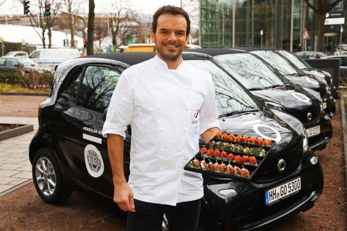 Steffen Henssler eröffnet ein Sushi-Restaurant in Frankfurt