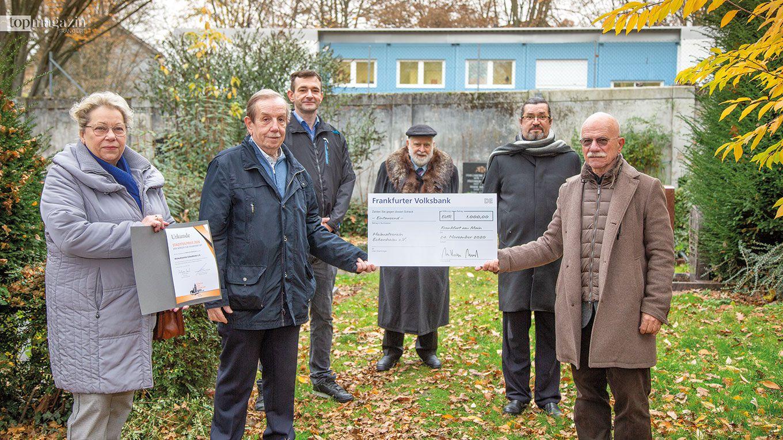 Sylvia Pfeiffer, Werner Pfeiffer, André Schwarz, Wolfgang Heinrich, Werner Rudloff (BFF-Mitglied Ortsbeirat 10), Wolfgang Hübner