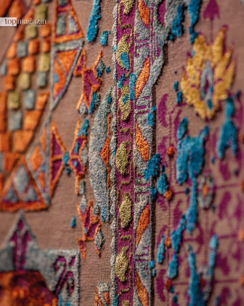 Teppiche sind Unikate, die in diversen Abmessungen, Farben und Materialien bestellt werden können
