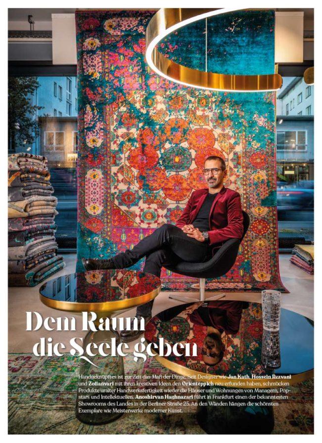 Top Magazin, Ausgabe Winter 2020, Dem Raum Seele geben