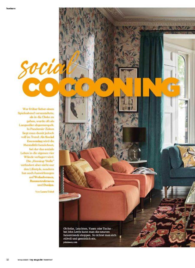 Top Magazin, Ausgabe Winter 2020, Die neue Wohnkultur