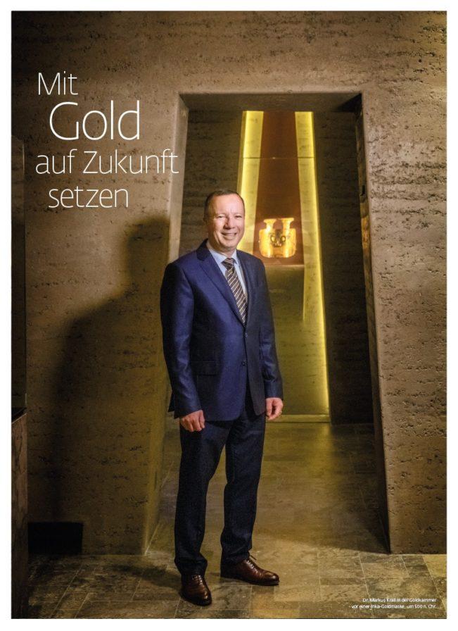 Top Magazin, Ausgabe Winter 2020, Mit Gold auf Zukunft setzen