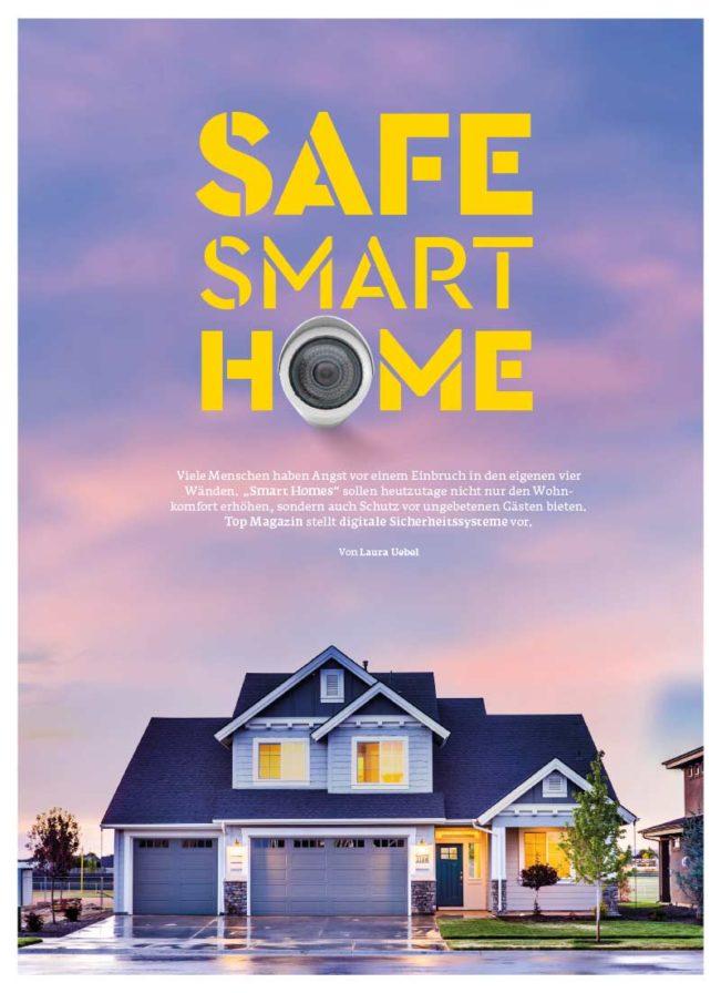 Top Magazin, Ausgabe Winter 2020, Safe Smart Home