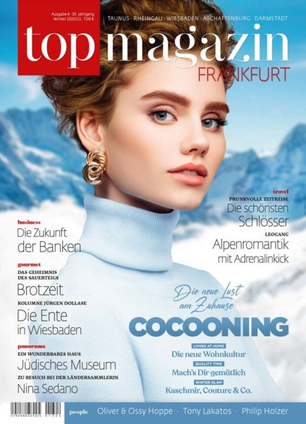Top Magazin Frankfurt, Ausgabe Winter 2020