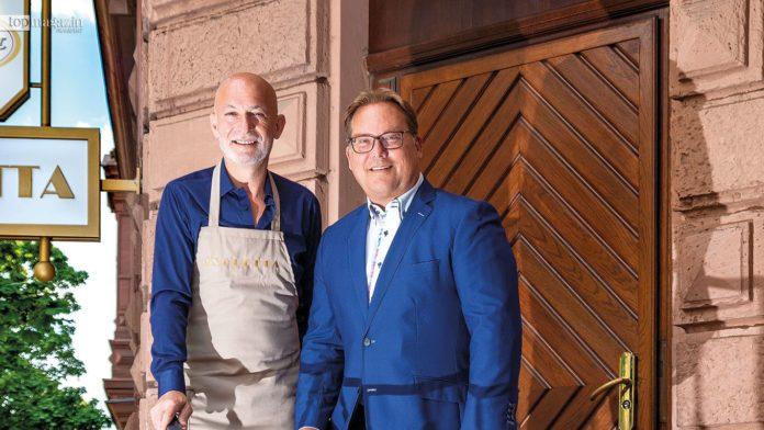 Ciro Cavallo und Michael Schramm