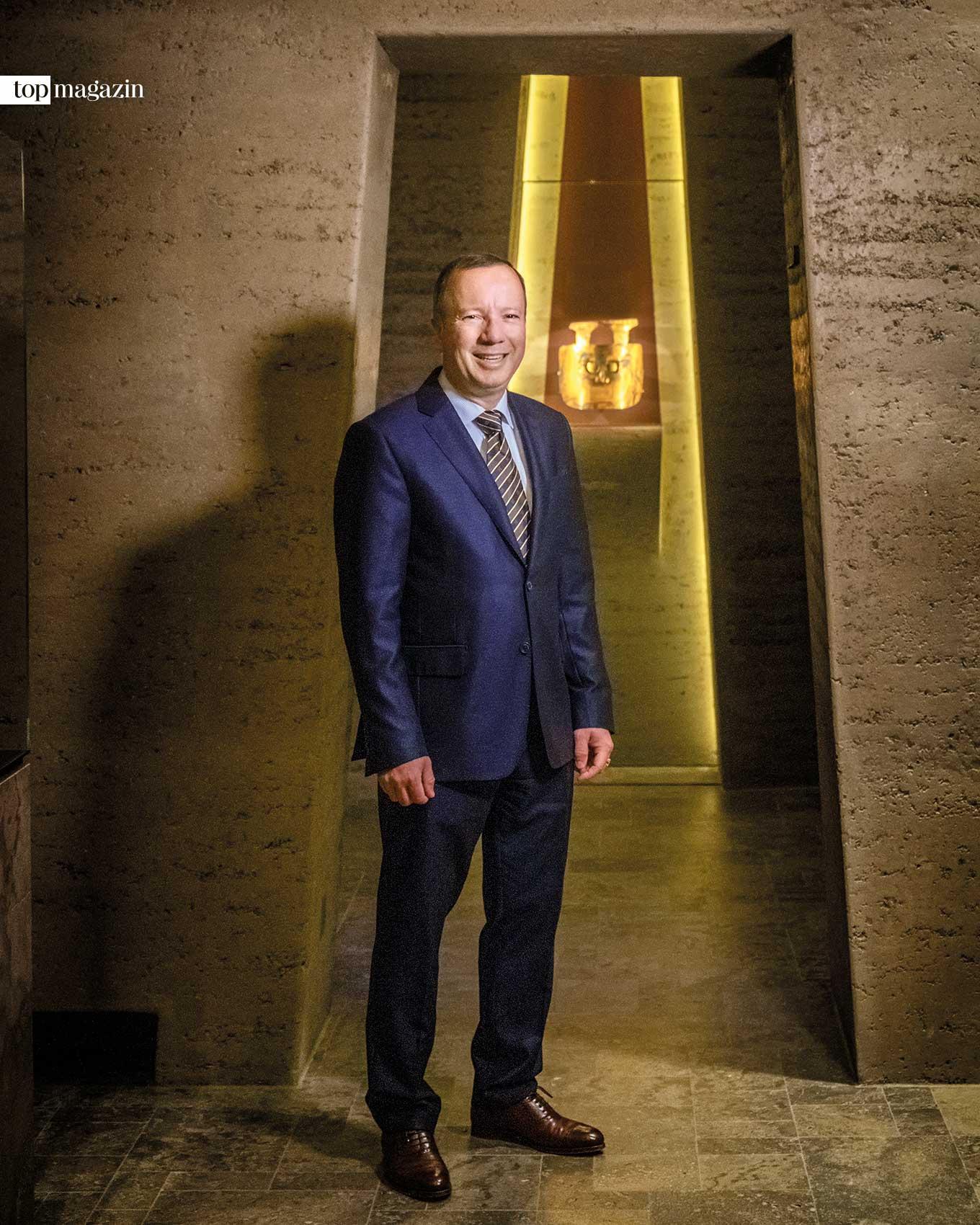 Degussa-Chef Dr. Markus Krall ist Volkswirt, Unternehmensberater und Autor