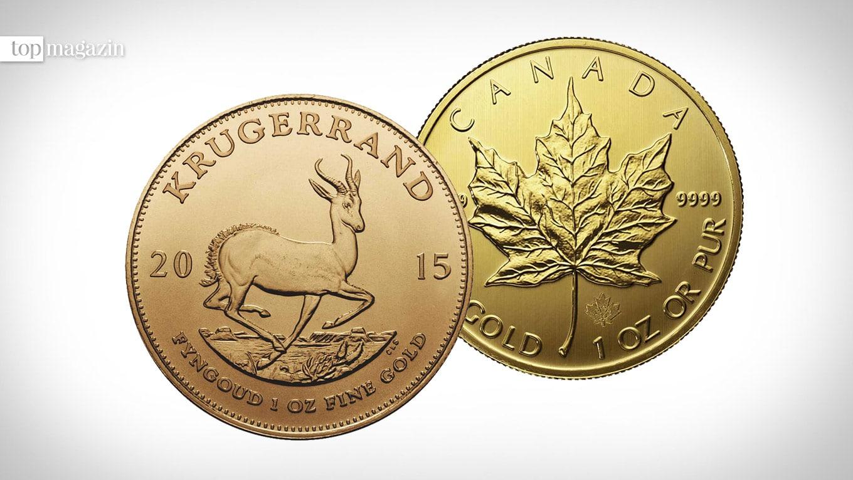 Degussa-Goldhandel Goldmuenzen
