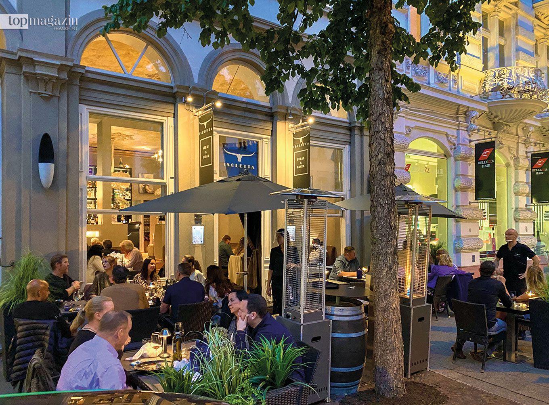 Isoletta Steak & Pasta in Wiesbaden mit schöner Terrasse
