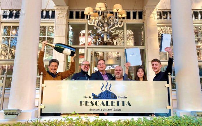 Das Pescaletta-Team in Wiesbaden freut sich auf die Gäste