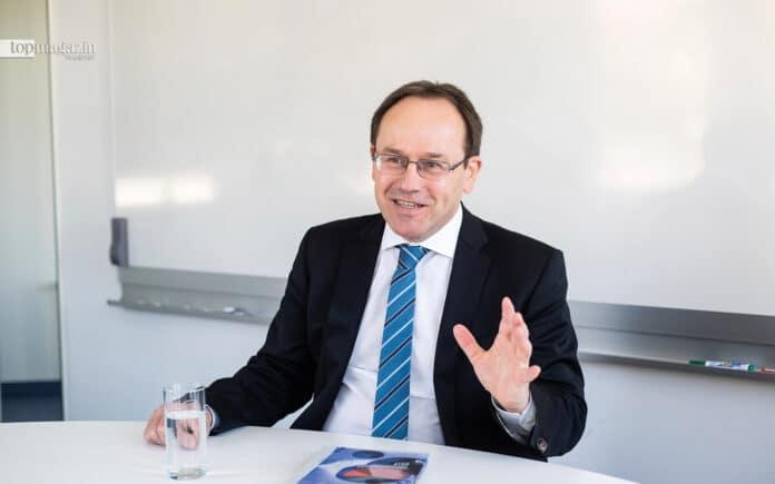 Der neue Generaldirektor der Senckenberg Gesellschaft Prof. Dr. Klement Tockner (Luiza Puiu)