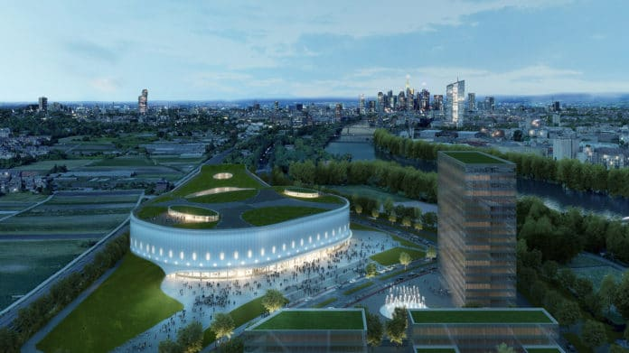 Die Mega-Arena am Kaiserlei soll bis zu 13.000 Zuschauern Platz bieten