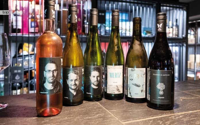 Die erste Kollektion von Vin Venture - sechs Weine von sechs Jungwinzern