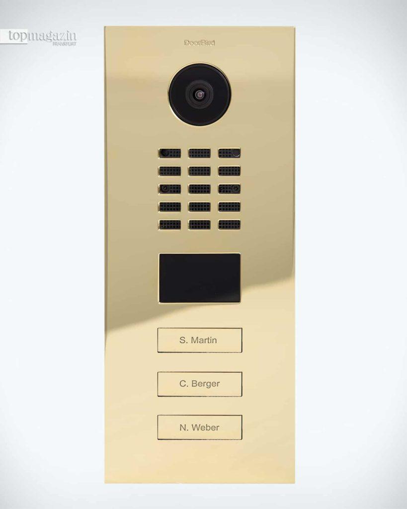 Digitale Türklingelsysteme wie DoorBird haben ergänzend die Aufgabe, Diebe zu entdecken und zu melden