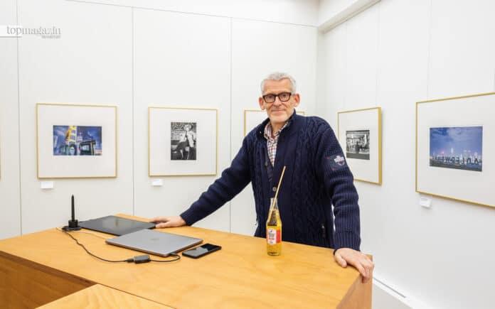 Martin Schitto in seiner Galerie