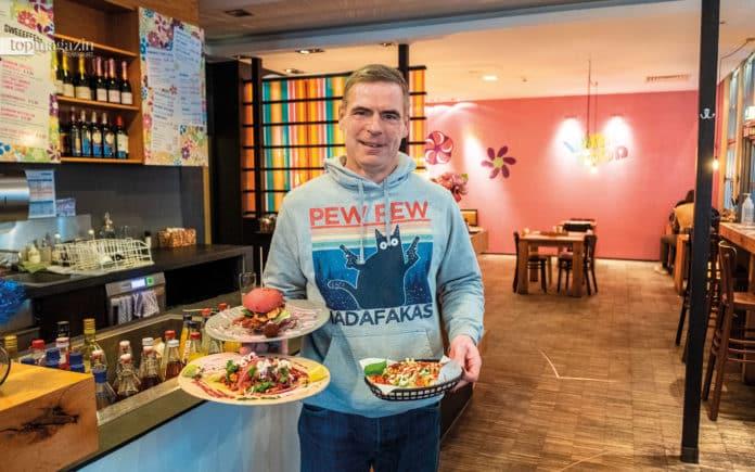 """Vunk Food-Betreiber Bodo Wanjura mag es fabenfroh und """"vunky"""""""