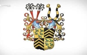 Das Wappen der Adelsfamilie von Berlepsch - Fabian v. Berlepsch