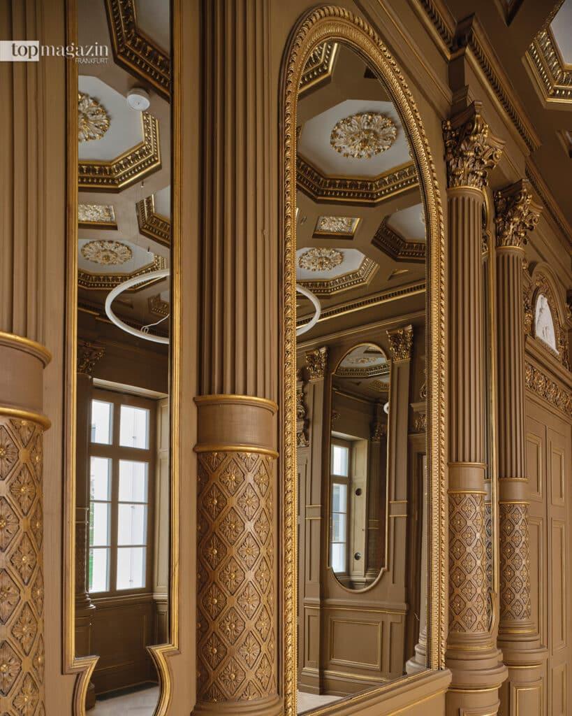 Das ehemalige Wohnhaus der Familie Rothschild strahlt jetzt in einem solchen Glanz, dass es kaum wiederzuerkennen ist