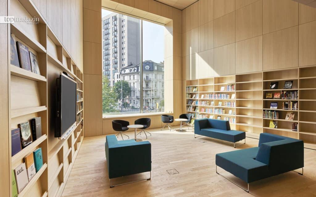 Die Bibliothek des jüdischen Museums