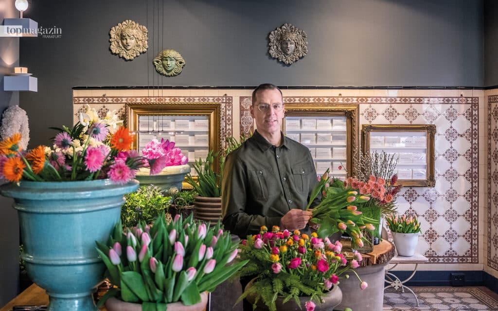 Heiko Bleuel in seinem stilvollen Altbauladen