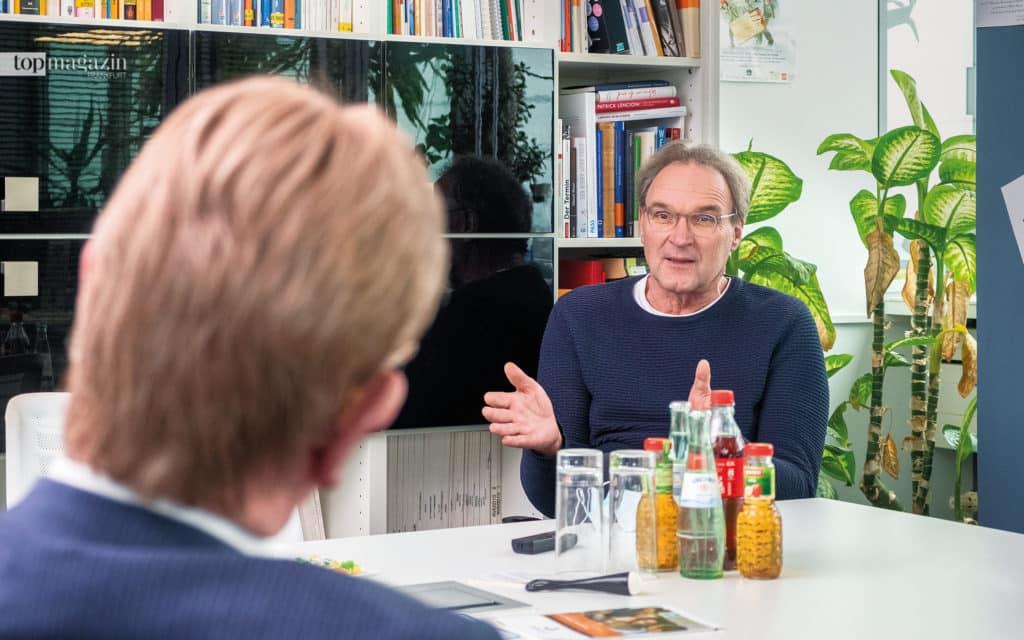 Prof. Dr. Jochen Maas im Gespräch mit Peter Lückemeier