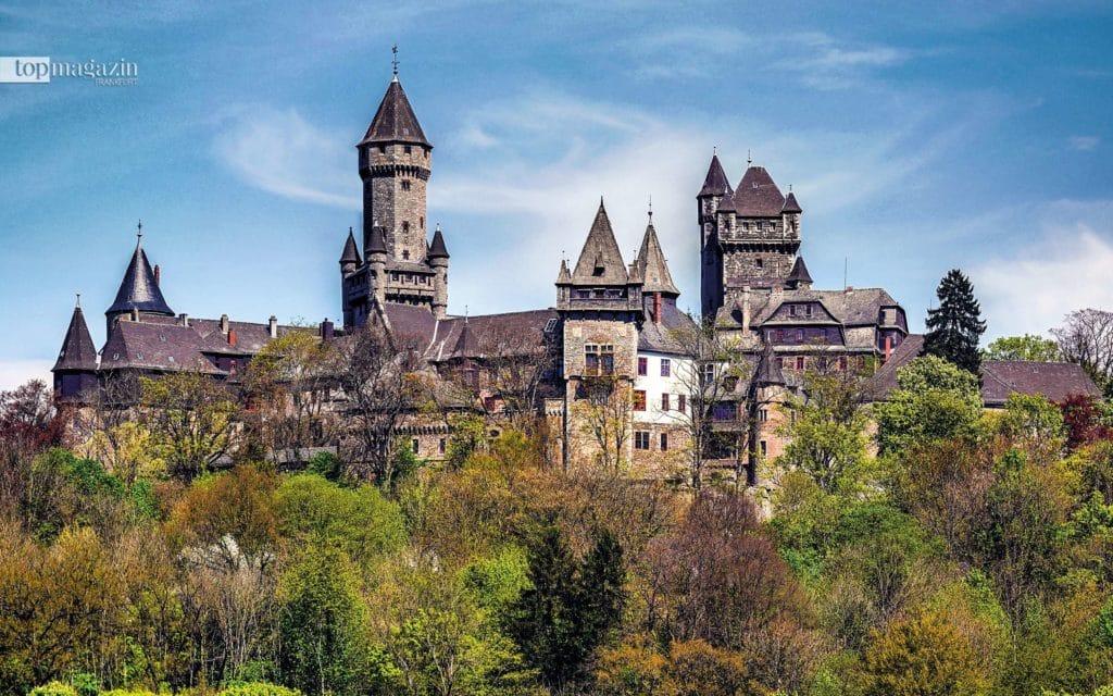 Schloss Braunfels im Lahntal (Foto: Rainer Lippert)