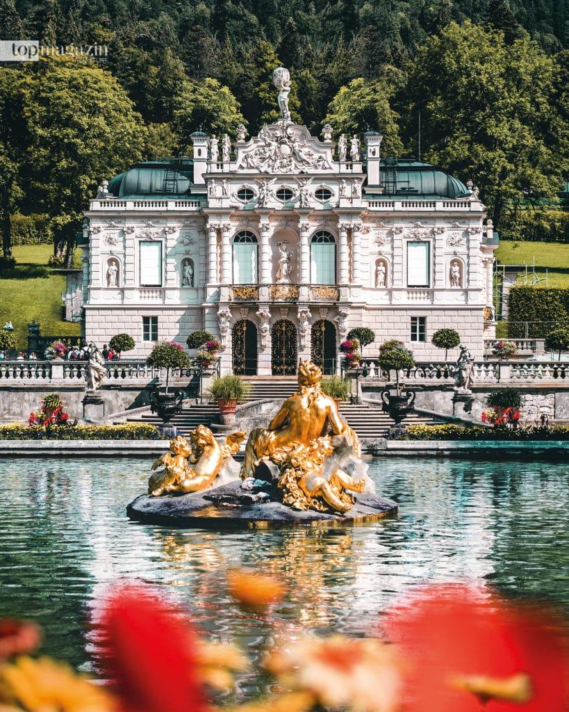 Schloss Linderhof in Ettal (Foto: Damian Baschiera)