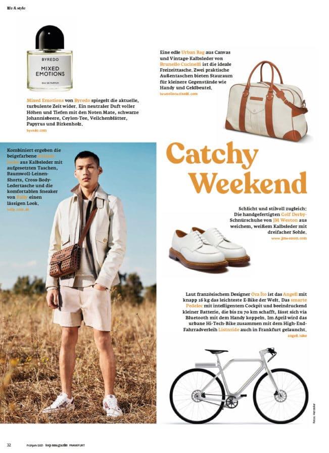 Top Magazin Ausgabe Frühjahr 2021 - Catchy Weekend
