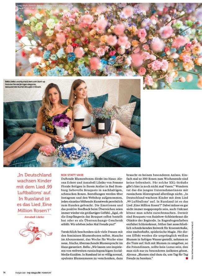 Top Magazin Ausgabe Frühjahr 2021 - Die neue Flower Power