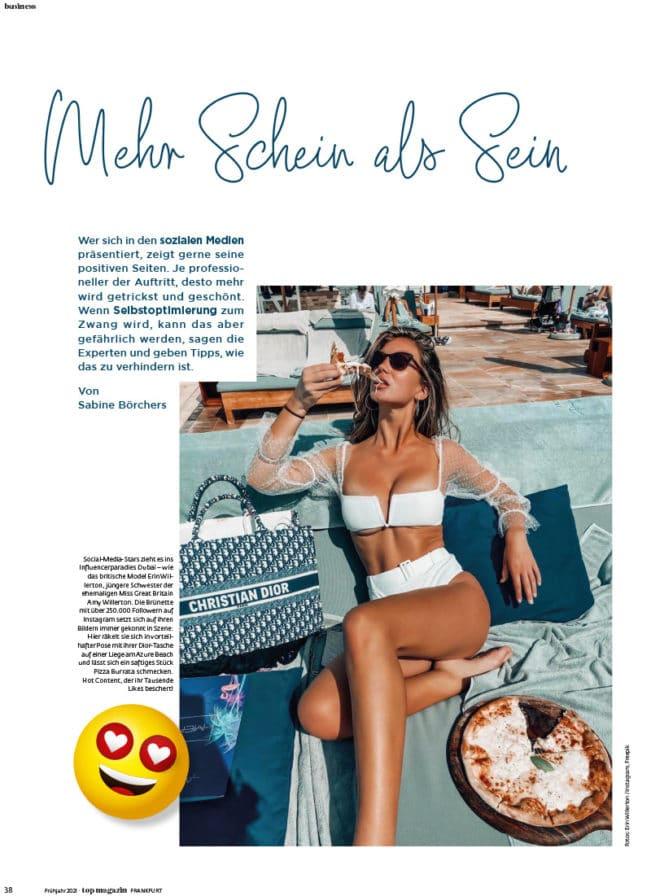 Top Magazin Ausgabe Frühjahr 2021 - Selbstoptimierung