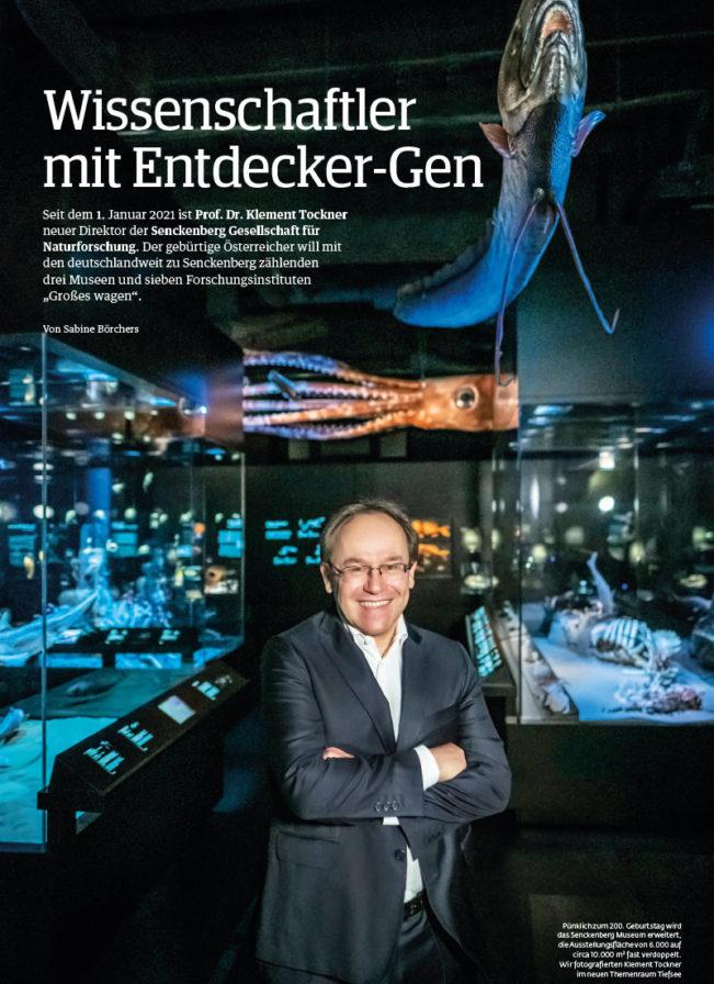 Top Magazin Ausgabe Frühjahr 2021 - Senkenberg Gesellschaft