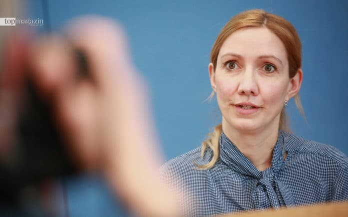 Virologin Sandra Ciesek