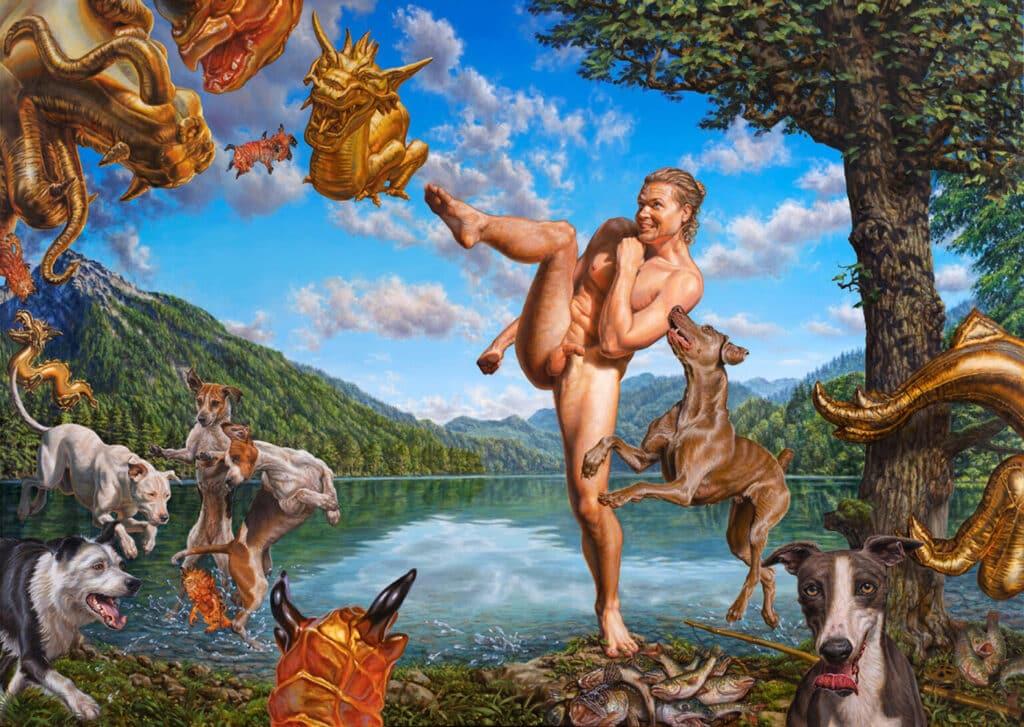 """Das Bildmotiv """"Akt in der Landschaft"""" ist so alt wie die Kunst selbst."""