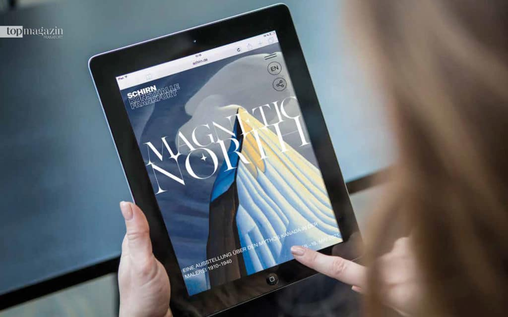 """Kunst entdecken mit dem multimedialen """"Digitorial"""" der Kunsthalle Schirn"""