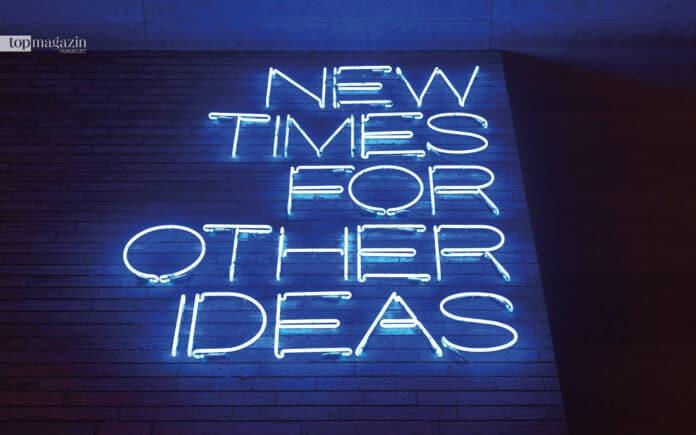 New times for other ideas. Kreative Unternehmer nutzten die schwierige Phase, um sich neu aufzustellen und Innovatives zu erproben.