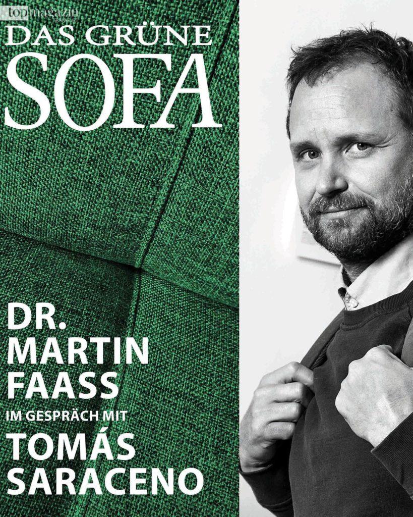 Podcast mit Museumsdirektor Dr. Martin Faass zum Plausch auf dem Grünen Sofa mit Künstlern und Experten