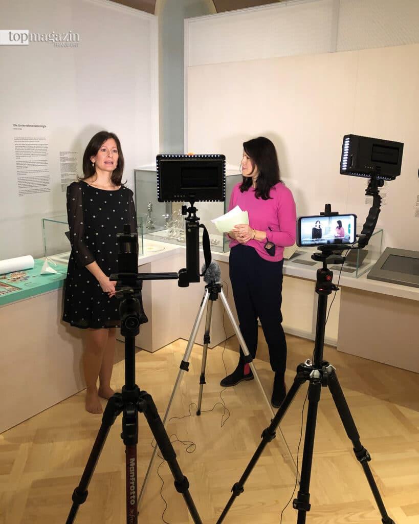 Regelmäßig veranstaltet das Jüdisches Museum Live-Talks