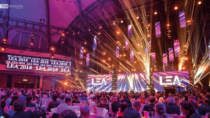 Spektakuläre Light-Show beim LEA Award 2018 in der Festhalle